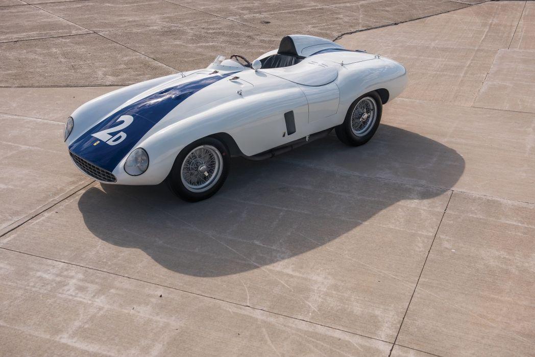 Ferrari 750 Monza Spyder cars 1954 wallpaper