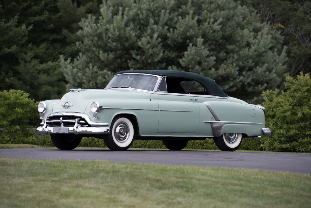 1952 Oldsmobile Super 88 Convertible cars classic wallpaper