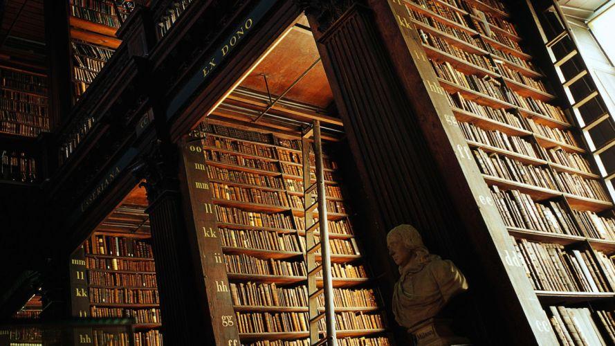 interior libreria estanterias libro wallpaper