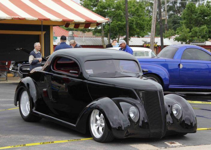 Hot rod cars modified classic wallpaper