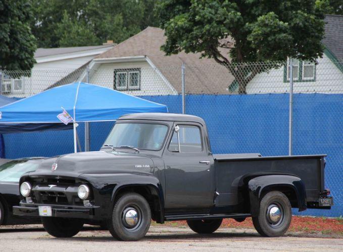 Old pickup truck classic usa wallpaper