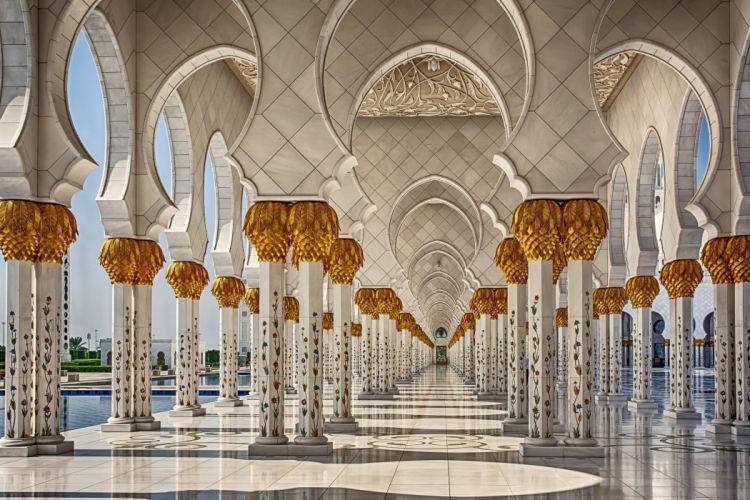 mezquita arcos salon wallpaper