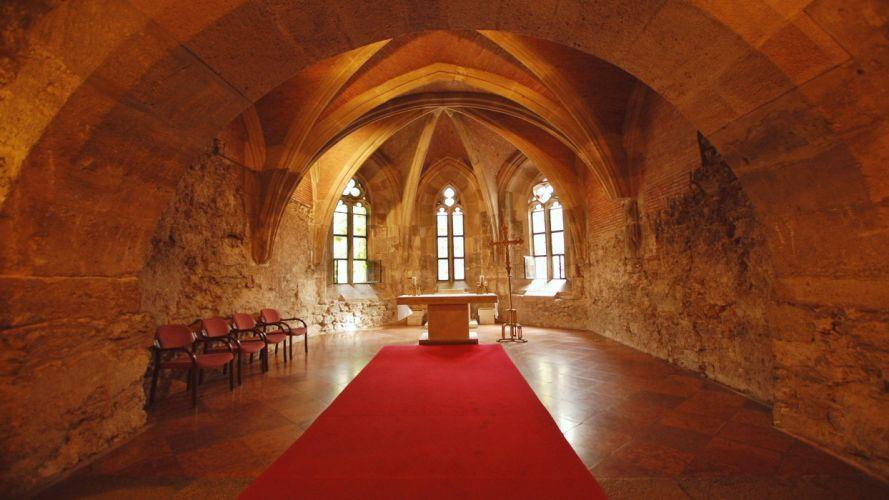 iglesia cupula interior arcos wallpaper