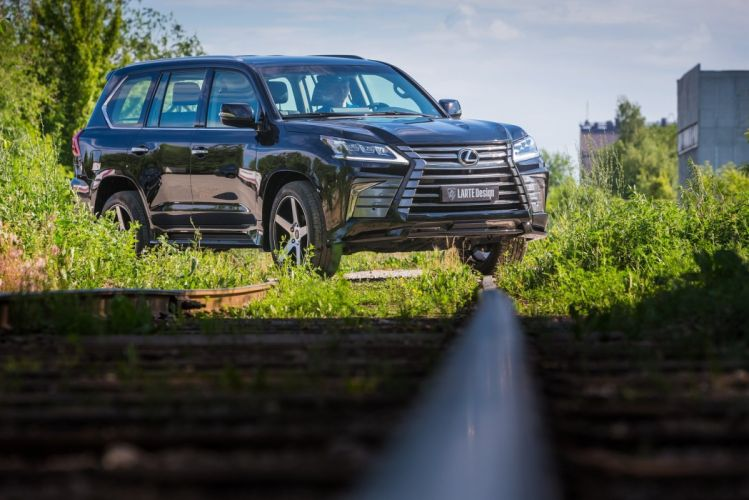 Larte Design Lexus LX-570 cars black suv modified 2016 wallpaper