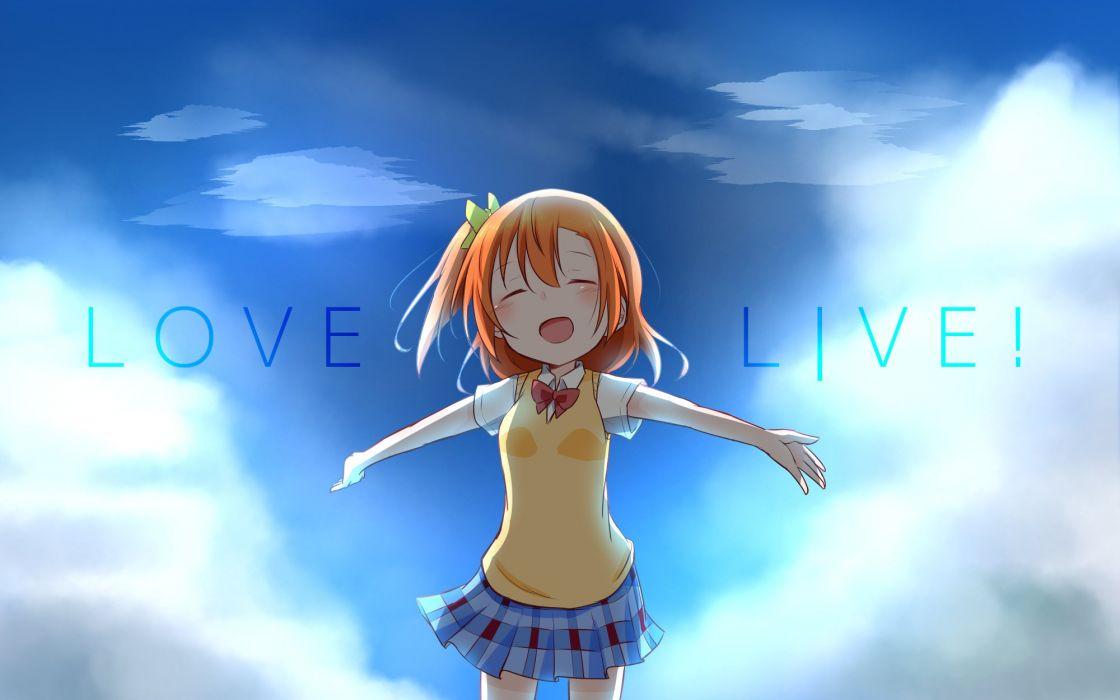 Love Live! Kousaka Honoka wallpaper