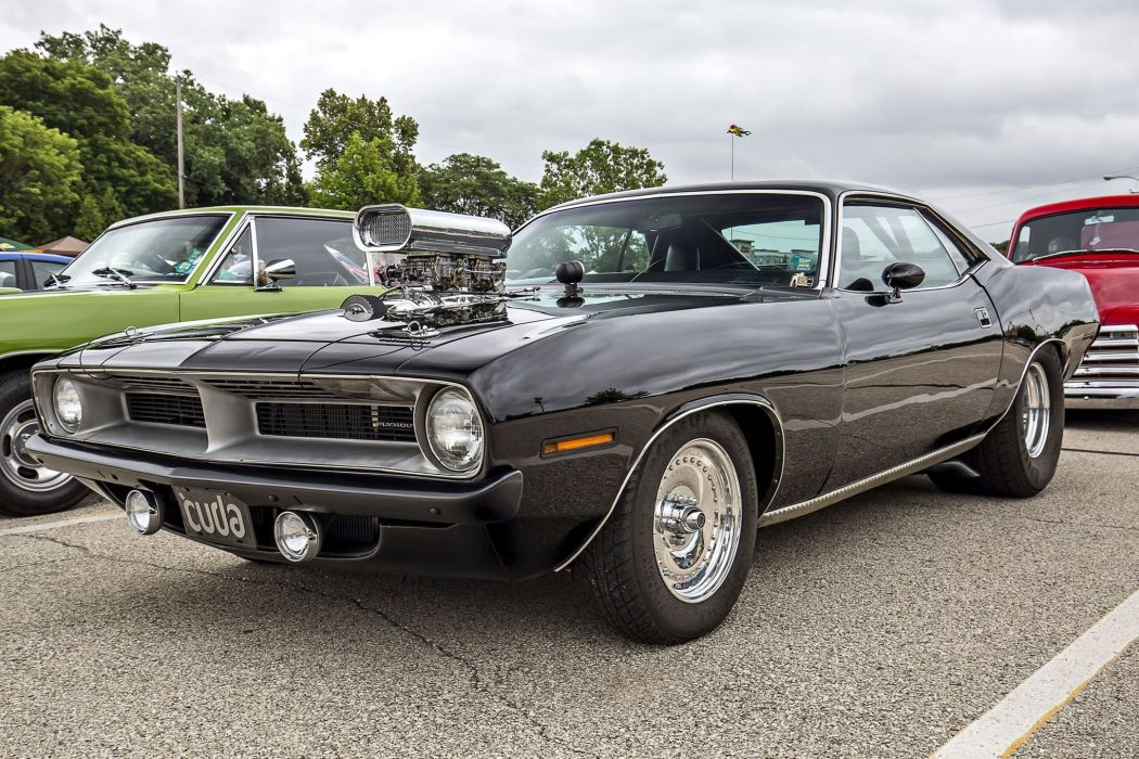 plymouth superchargers cuda cars 1970  wallpaper