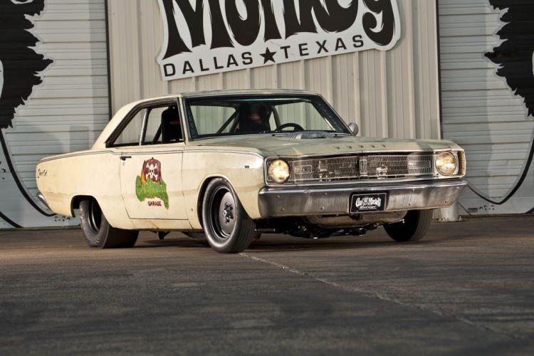 1967 dodge dart hellcat gas monkey cars classic modified wallpaper