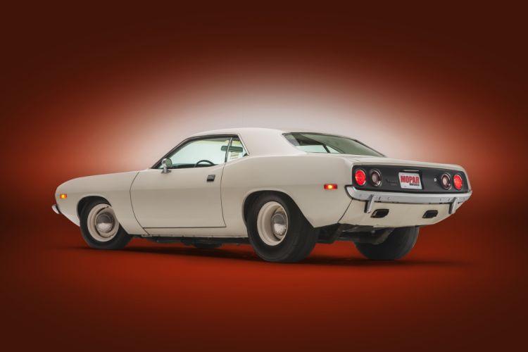 1973 plymouth cuda cars white wallpaper