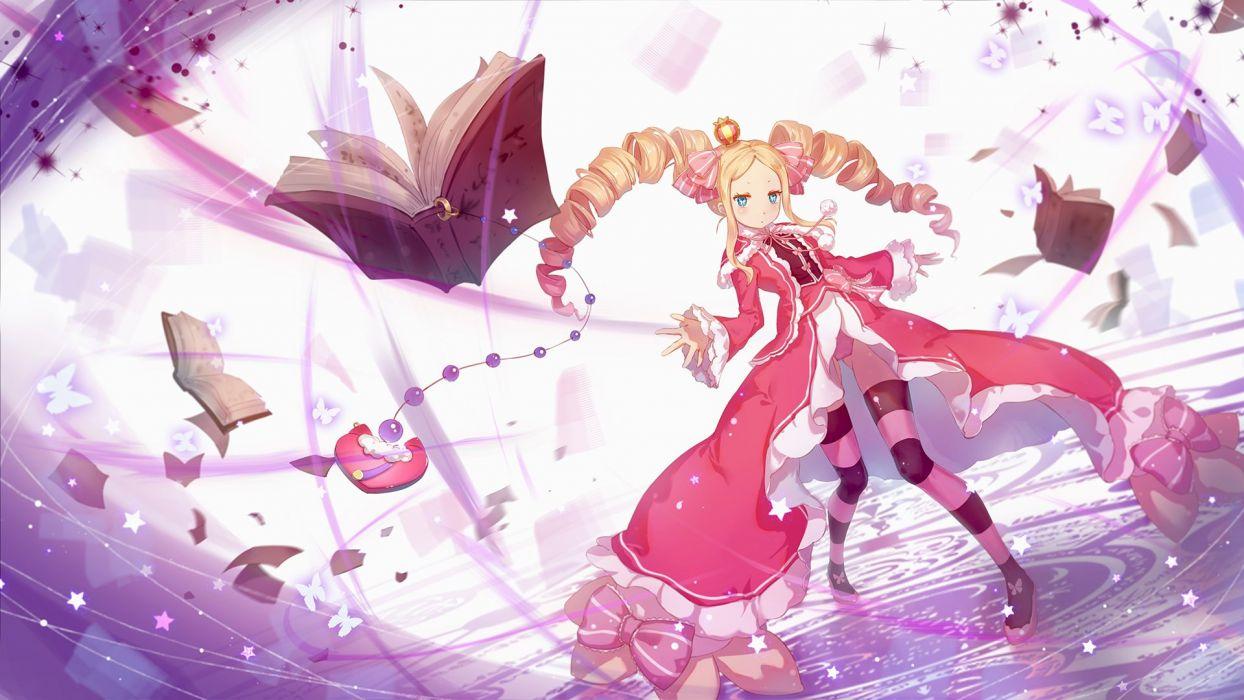 Re Zero Kara Hajimeru Isekai Seikatsu Beatrice Zero Wallpaper