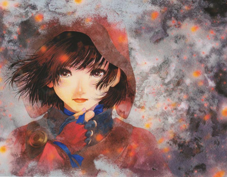 Mikimoto Haruhiko Wit Studio Koutetsujou no Kabaneri Mumei (Koutetsujou no Kabaneri) wallpaper
