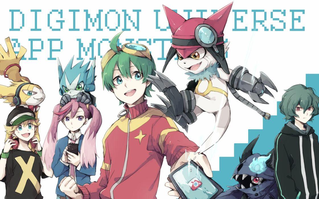 Appli Monsters Digimon Universe wallpaper