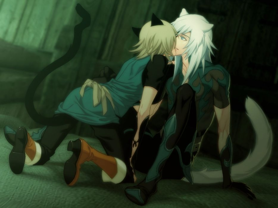 Lamento Konoe RAI Cat Tail Bracers wallpaper