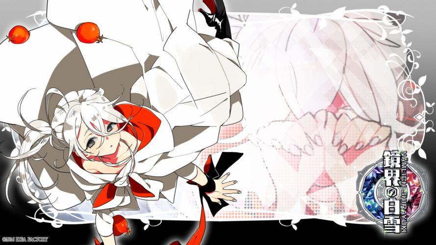 Otomate Kyoukai no Shirayuki Arima Utsuro Pomegranate Widescreen wallpaper