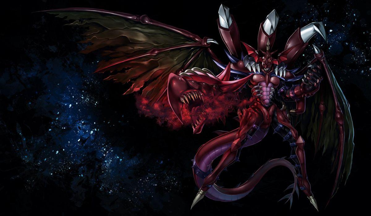 Yu-Gi-Oh! Yu-Gi-Oh! GX Destiny Hero - Plasma Outdoors Stars wallpaper