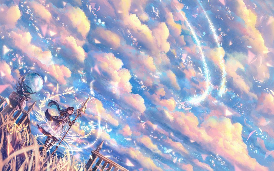 Sakimori Scepter Wind original wallpaper