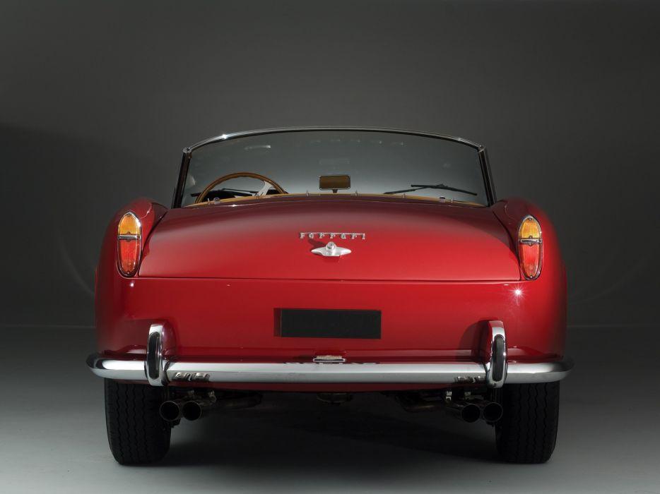 Ferrari 250 GT California LWB cars red 1958 wallpaper