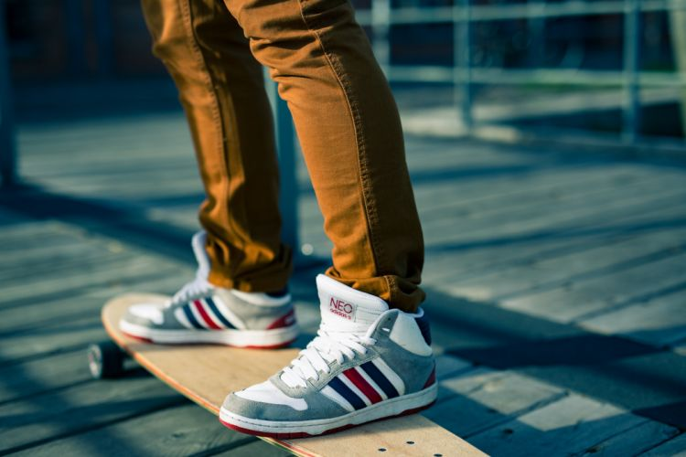 skateboarding adidas neo sneakers wallpaper