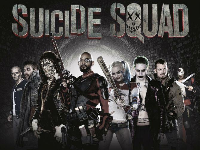 poster action comics d-c dc-comics fighting harley mystery quinn squad suicide superhero (27) wallpaper