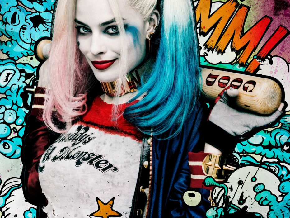 action comics d-c dc-comics fighting harley mystery quinn squad suicide superhero (17) wallpaper