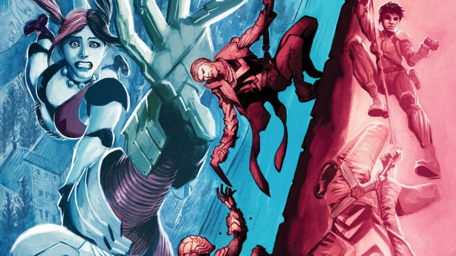 action comics d-c dc-comics fighting harley mystery quinn squad suicide superhero (16) wallpaper