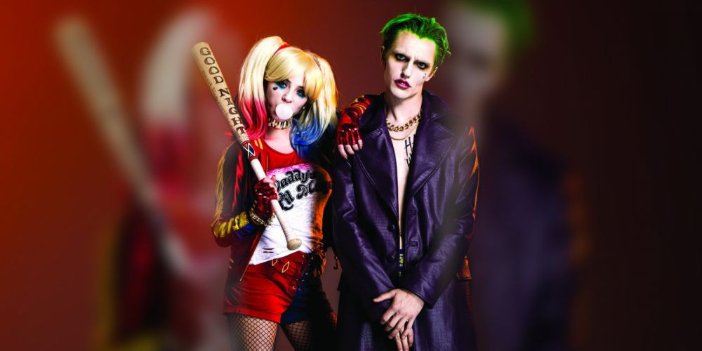 cosplay action comics d-c dc-comics fighting harley mystery quinn squad suicide superhero (1) wallpaper