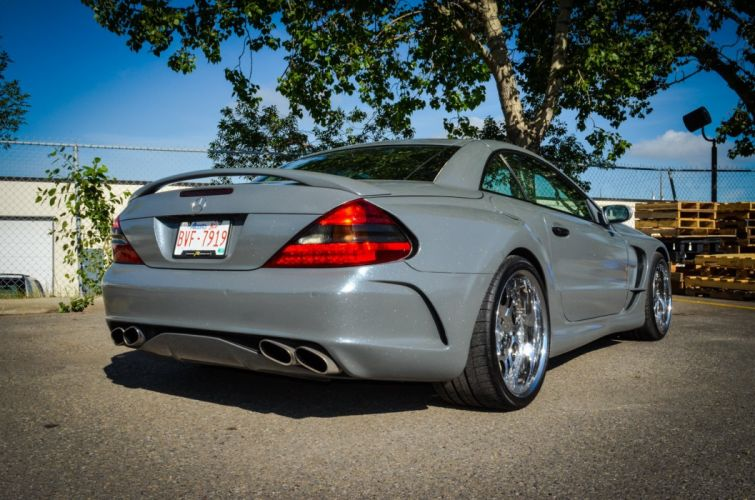 Mercedes SL55 AMG ZR Auto cars modified wallpaper