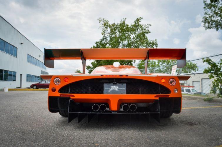 Maserati MC12 Corsa cars supercars orange wallpaper
