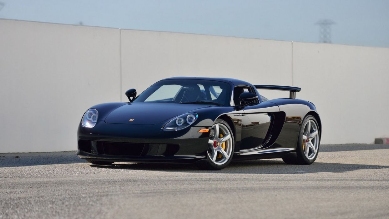 2005 Porsche Carrera GT cars supercars wallpaper