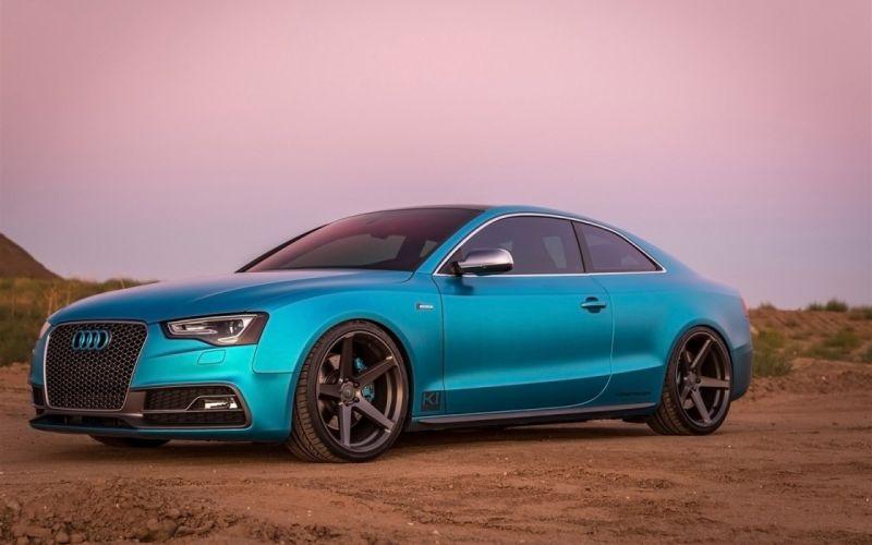 2016 Vorsteiner Audi-S5 wheels cars blue wallpaper