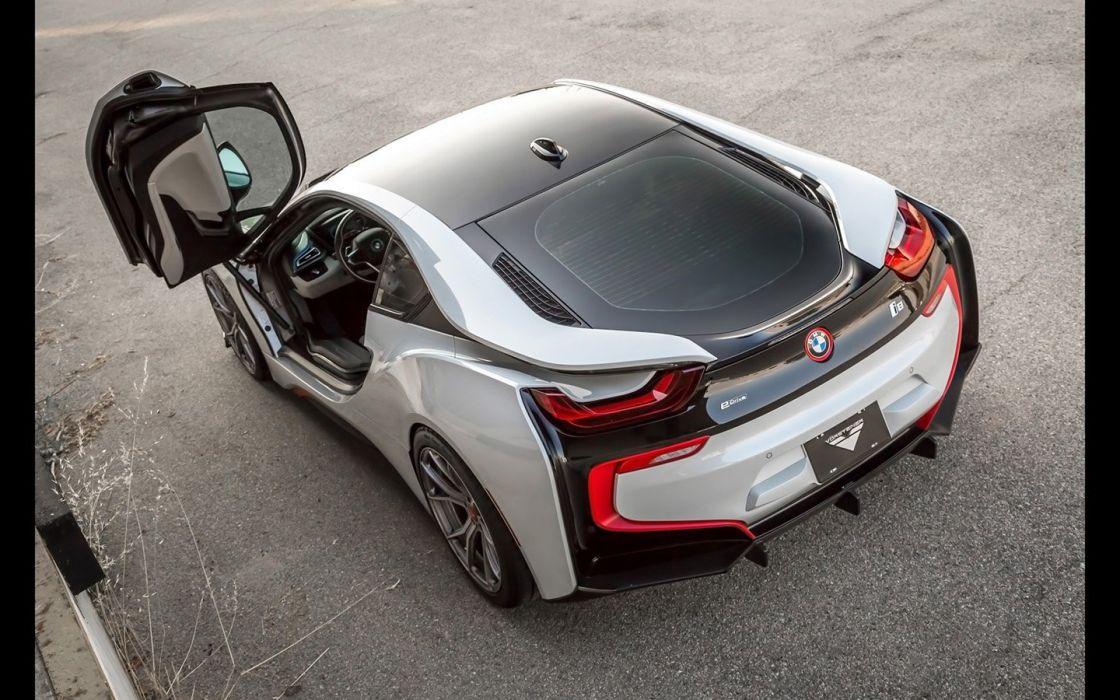 2016 Vorsteiner BMW-i8 cars electric white wheels wallpaper