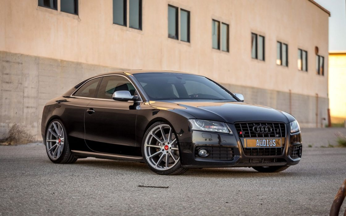 2016 Vorsteiner Audi-S5 cars black coupe wheels wallpaper