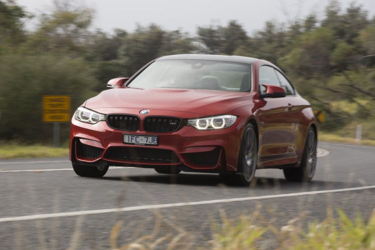 BMW M4 Coupe Competition Package AU-spec (F82) cars 2016 wallpaper