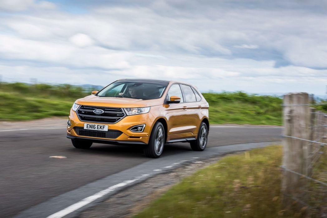 Ford Edge Sport UK-spec cars suv 2016 wallpaper