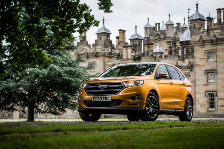Ford Edge Sport UK-spec cars suv 2016 wallpaper