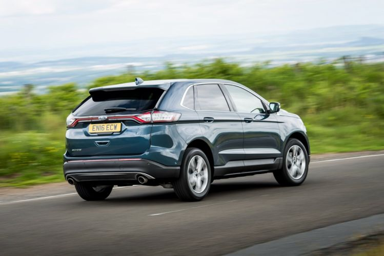 Ford Edge UK-spec cars suv 2016 wallpaper
