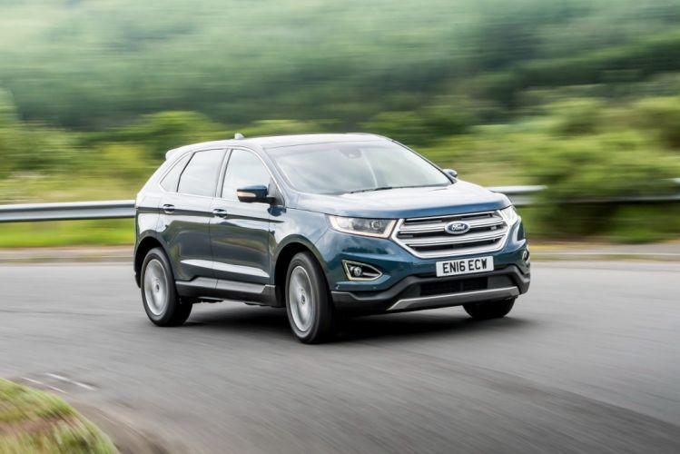 Ford Edge UK-spec cars suv 2016 wallpaper