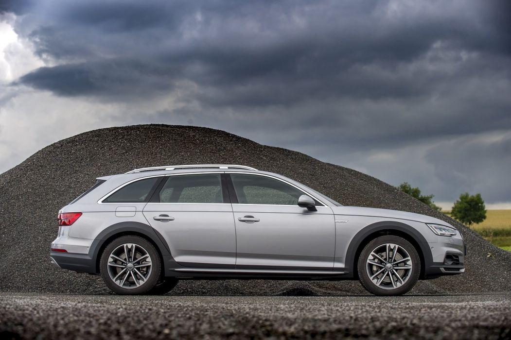 Audi A4 allroad 3 0 TDI quattro UK-spec (B9) cars wagon 2016 wallpaper