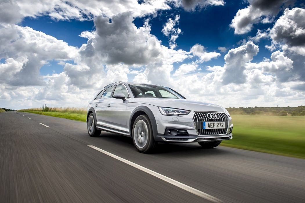 Audi A4 allroad 3 0 TDI quattro UK-spec (B9) cars wagon 2016 wallpaper