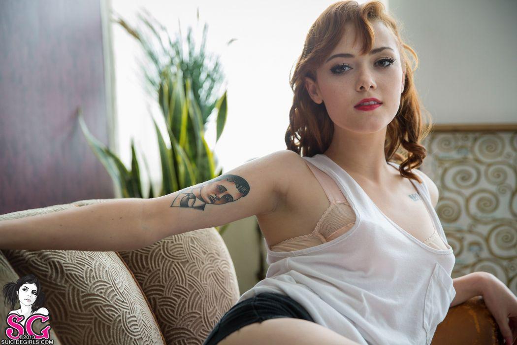 mujer tatuaje wallpaper