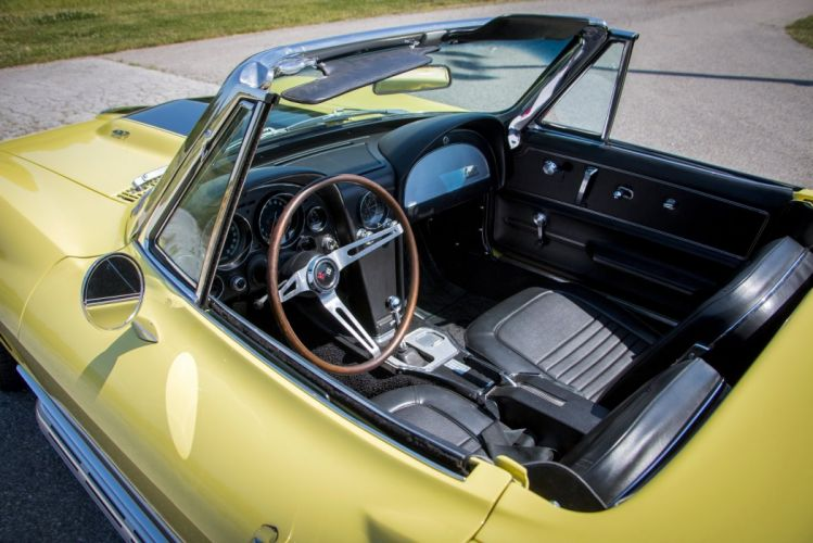 1967 Chevrolet Corvette Sting Ray L36 Convertible cars wallpaper