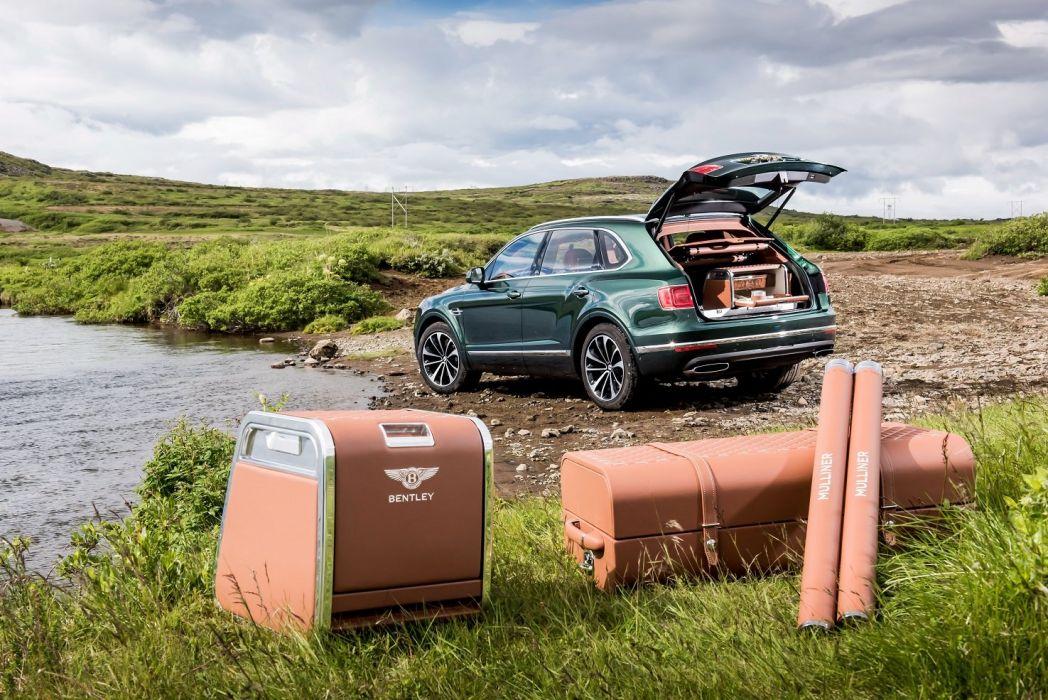 Bentley Bentayga Fly Fishing Mulliner cars modified 2016 wallpaper