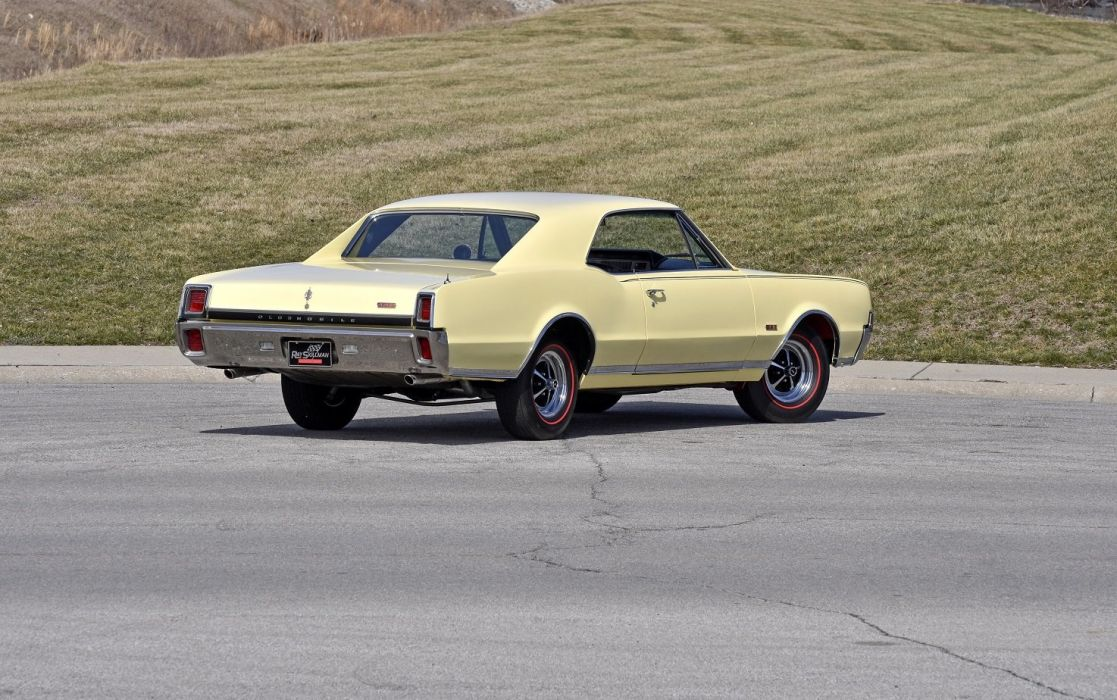 1967 Oldsmobile Cutlass 442 W-30 Holiday Coupe cars wallpaper