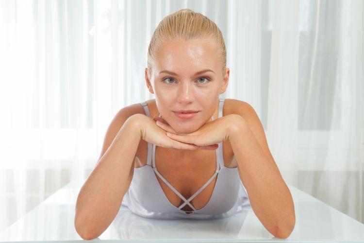 beautiful girl female women woman sexy babe model adult blonde face f wallpaper