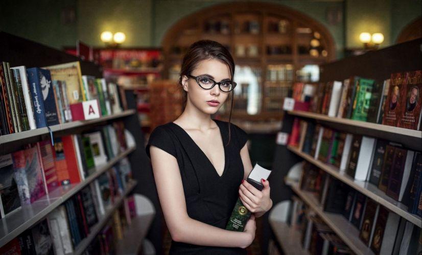 beautiful girl female women woman sexy babe model adult brunette b wallpaper