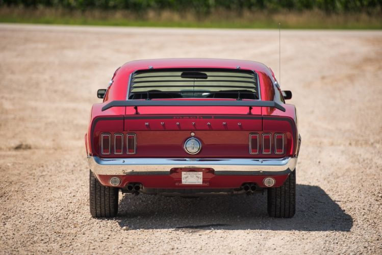 1969 Ford Mustang Mach-1 428 Super Cobra Jet cars wallpaper