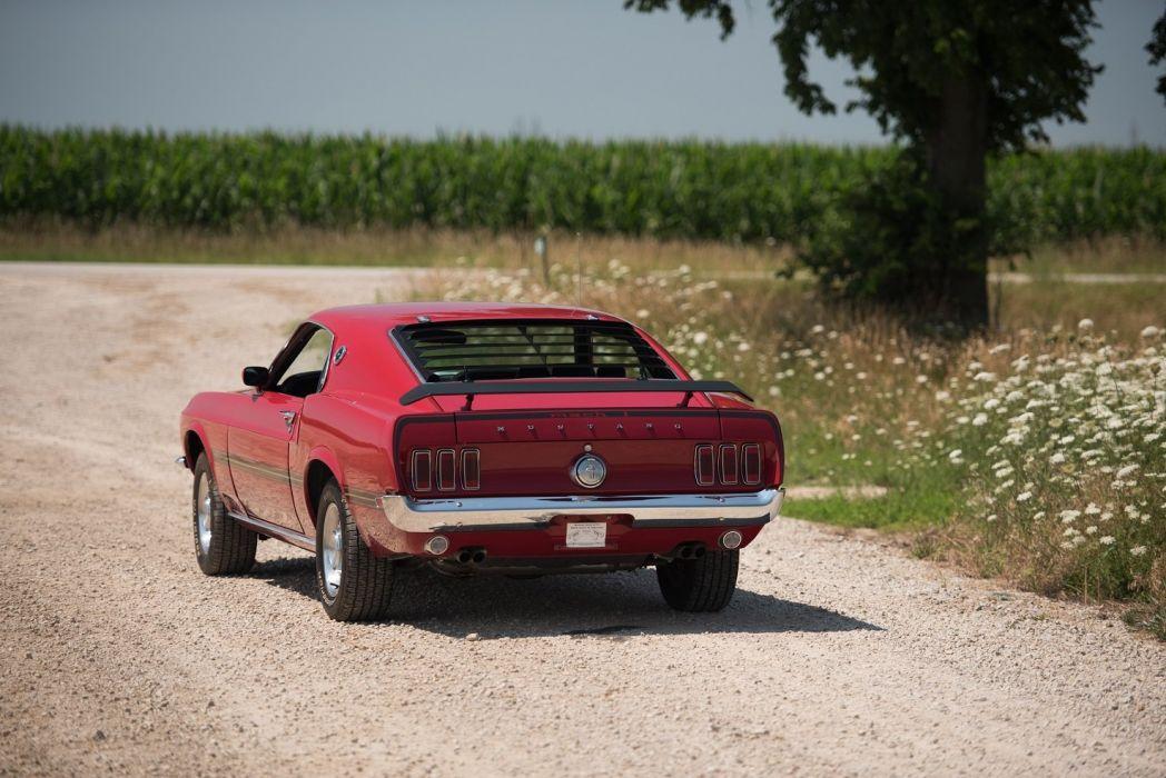 1969 Ford Mustang Mach-1 428 Super Cobra Jet cars wallpaper