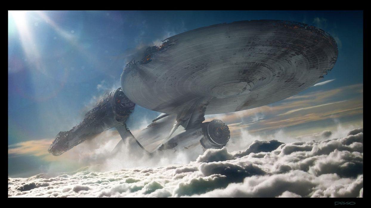 star trek sci-fi science fiction spaceship futuristic adventure series mystery (6) wallpaper