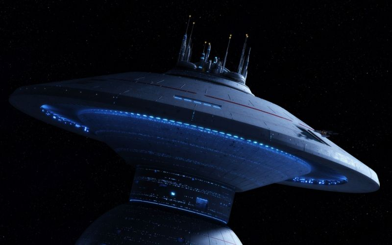 star trek sci-fi science fiction spaceship futuristic adventure series mystery (67) wallpaper
