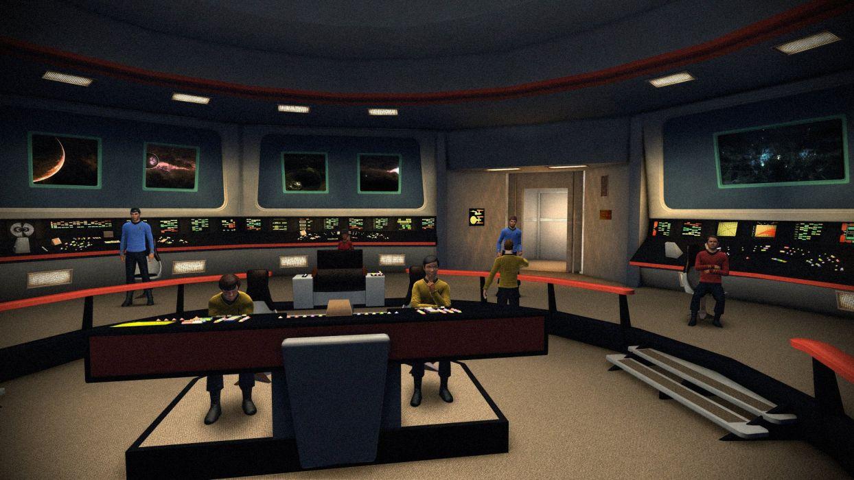 star trek sci-fi science fiction spaceship futuristic adventure series mystery (27) wallpaper