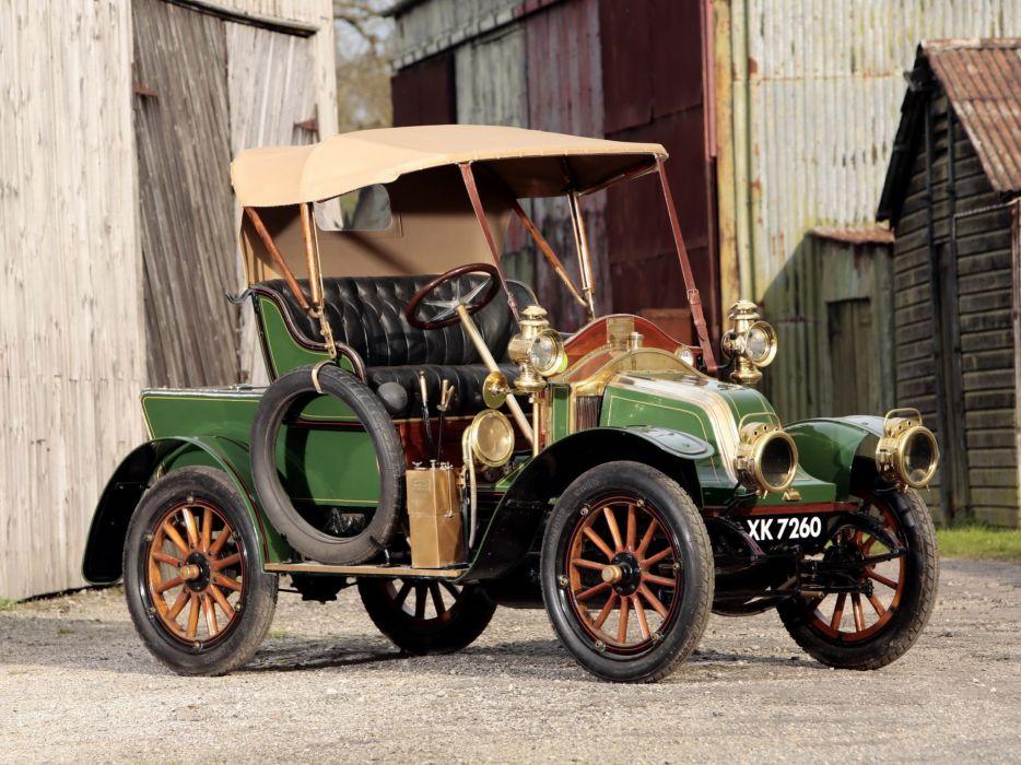 antiguo coche verde wallpaper